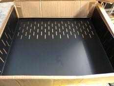 HASTINGS 2 RACK SHELF 2U CLAMPING / RRP £29.99 / LIKE NEW