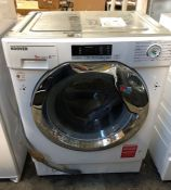 HOOVER INTEGRATED WASHING MACHINE HBWM 914SC-80 / RRP £389.00 / UNTESTED, USED, SCUFFS AND SCRATCHES