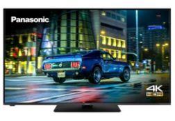 "PANASONIC 50"" SMART 4K ULTRA HD HDR LED TV - TX - 50HX580B / RRP £449.00 / TESTED AND WORKING, NO"