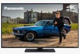 "PANASONIC 49"" LED HDR 4K ULTRA HD SMART TV WITH FREEVIEW PLAYBACK - TX- 49GX550B / RRP £339.00 /"