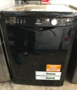 INDESIT FREE STANDING DISH WASHER - DFG 15B1 K UK / RRP £249.00 / UNTESTED, LOOKS UNUSED.
