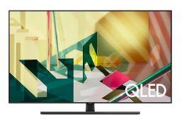 "SAMSUNG 2020 65"" Q70T QELD 4K HDR SMART TV - QE65Q70TAT / RRP £1,199.00 / TESTED AND WORKING, NO"