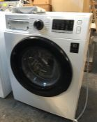 SAMSUNG WASHING MACHINE - WW80TA046AE / RRP £399.00 / UNTESTED, LIGHTLY USED, DETERGENT DRAWER