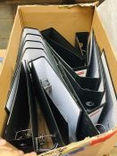 1 LOT TO CONTAIN AN ASSORTMENT OF OFFICE SUPPLIES, ITEMS TO INCLUDE: BINDERS AND STAPLES - L2