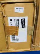 1 LOT TO CONTAIN A BOX OF STAPLES ENVELOPES, PEEL AND SEAL, WITHOUT WINDOW, GUSSET, MANILLA - L2