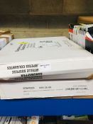 1 LOT TO CONTAIN 2 PACKS OF STAPLES SUSPENSION FILES IN GREEN - L2