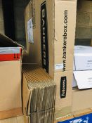 1 LOT TO CONTAIN 10 BANKERS BOXES AND A SET OF LONG THIN CARDBOARD BOXES FOR PACKAGING - L2