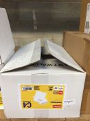1 LOT TO CONTAIN A BOX OF STAPLES C4 PREMIUM ENVELOPES IN WHITE WITH WINDOW - L3