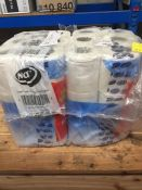 1 LOT TO CONTAIN 2 X PACKS OF 18 X NICKY SOFT TOUCH TOILET ROLLS - L3