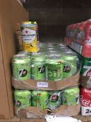 1 LOT TO CONTAIN 2 X TRAYS OF 7UP FREE, EACH TRAY CONTAINS 23 CANS, 46 IN TOTAL FOR THIS LOT - L3