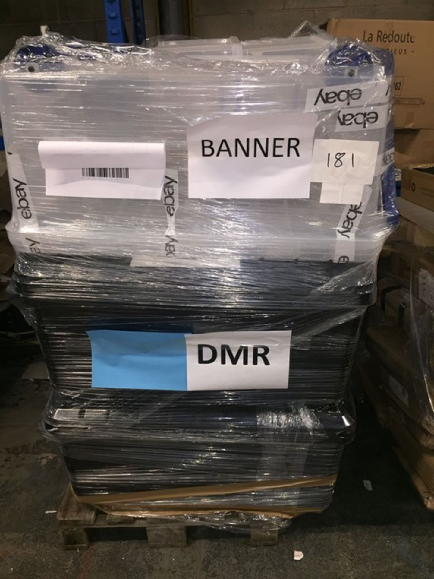 1 LOT TO CONTAIN A BULK PALLET OF ASSORTED STORAGE BOXES - L3