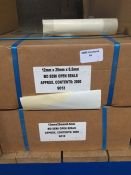 1 LOT TO CONTAIN 2 X BOXES OF MD SEMI OPEN SEALS WITH APPROX 2000 SEALS IN EACH BOX - L3