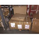 1 LOT TO CONTAIN ASSORTED STORAGE BOXES AND CARDBOARD BOXES - L3