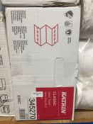 1 LOT TO CONTAIN A BOX OF KATRIN CLASSIC HAND TOWELS ONE STOP M 2 - L3