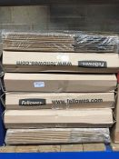 1 LOT TO CONTAIN 6 X PACKS OF FELLOWES BANKERS BOXES - L3