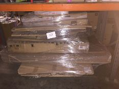 1 LOT TO CONTAIN A BULK PALLET OF WHITEBOARDS, NOTICE BOARDS, CARDBOARD BOXES, DISPLAY EASELS - L3