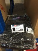 1 LOT TO CONTAIN 5 X UK MAIL BLACK CARGO WORK SHORTS IN SIZE 38 - L3