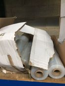 1 LOT TO CONTAIN 6 X ROLLS OF CLEAR SHRINK WRAP / PALLET WRAP - L3