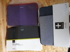 """ONE LOT TO CONTAIN AN ASSORTMENT OF 11"""" MAC BOOK AIR CASES. TEN (X10) ITEMS IN TOTAL: THREE TAVOK"""