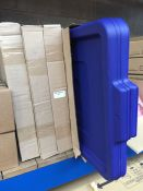 1 LOT TO CONTAIN 15 X PLASTIC LIDS FOR STORAGE BOXES - L3
