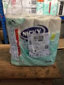 1 LOT TO CONTAIN A PACK OF 32 X NICKY ELITE TOILET ROLLS - L3