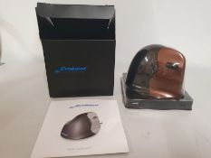 ONE LOT TO CONTAIN ONE EVOLUENT4 SMALL WIRELESS MOUSE - RIGHT HAND. CUSTOMER RETURN. UNTESTED.