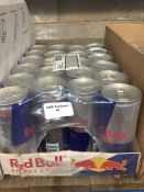 1 LOT TO CONTAIN A TRAY OF 22 CANS OF RED BULL ENERGY DRINK BB 14TH APRIL 2021 - L3
