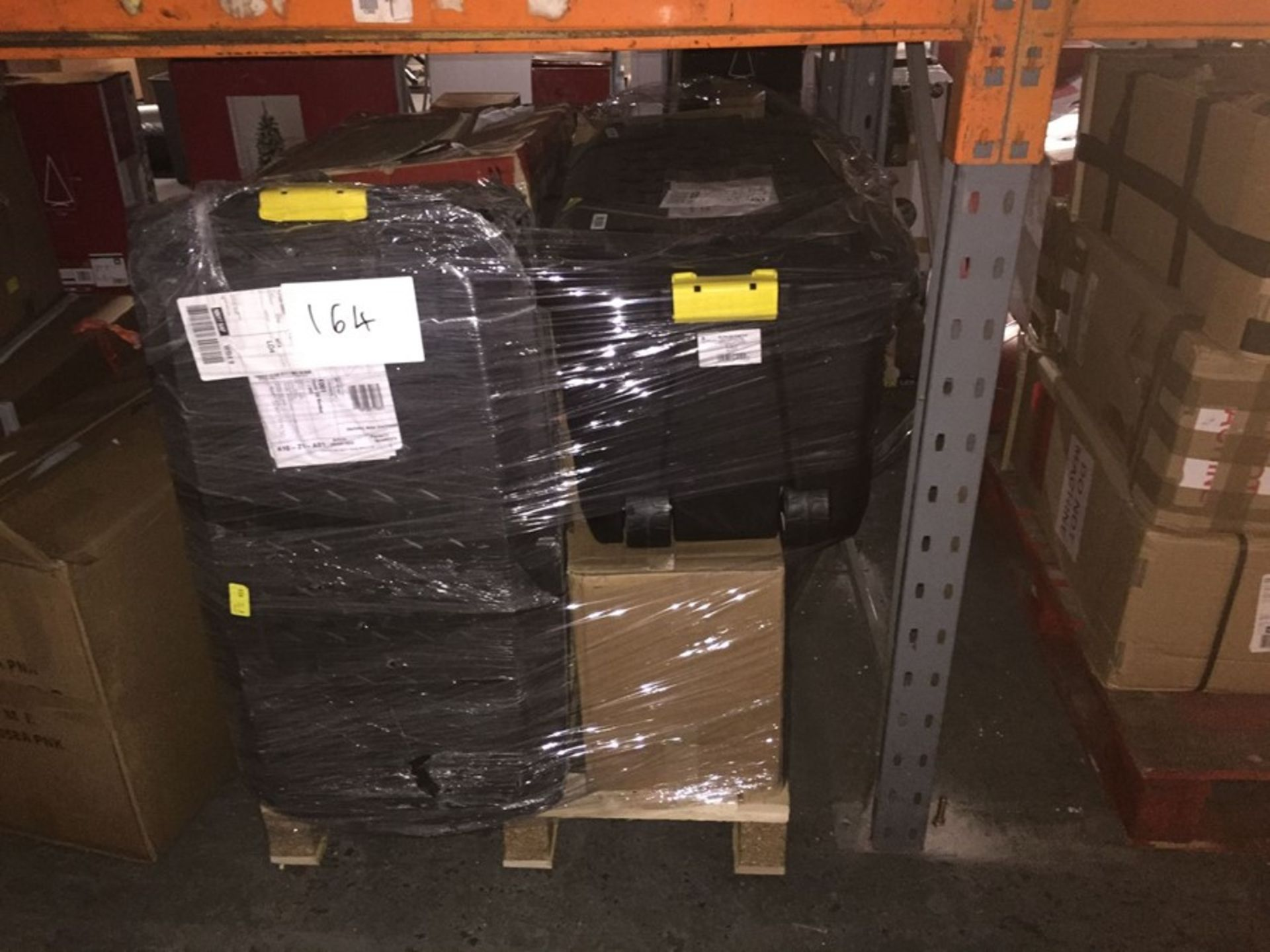 1 LOT TO CONTAIN ASSORTED STORAGE BOXES - L3