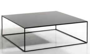LA REDOUTE ROMY SQUARE METAL COFFEE TABLE