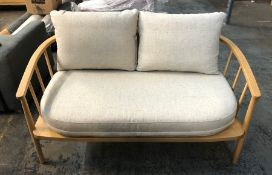 JOHN LEWIS CROFT COLLECTION FROME LOVESEAT
