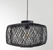 LA REDOUTE YAKU RATTAN CEILING LIGHT (NON-ELECTRIFIED)