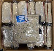 """12 x ORKIO 10.2"""" LAPTOP MESSENGER BAGS IN BEIGE"""