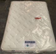 SILENTNIGHT ECO COMFORT MIRACOIL LUXURY MATTRESS / SIZE : DOUBLE