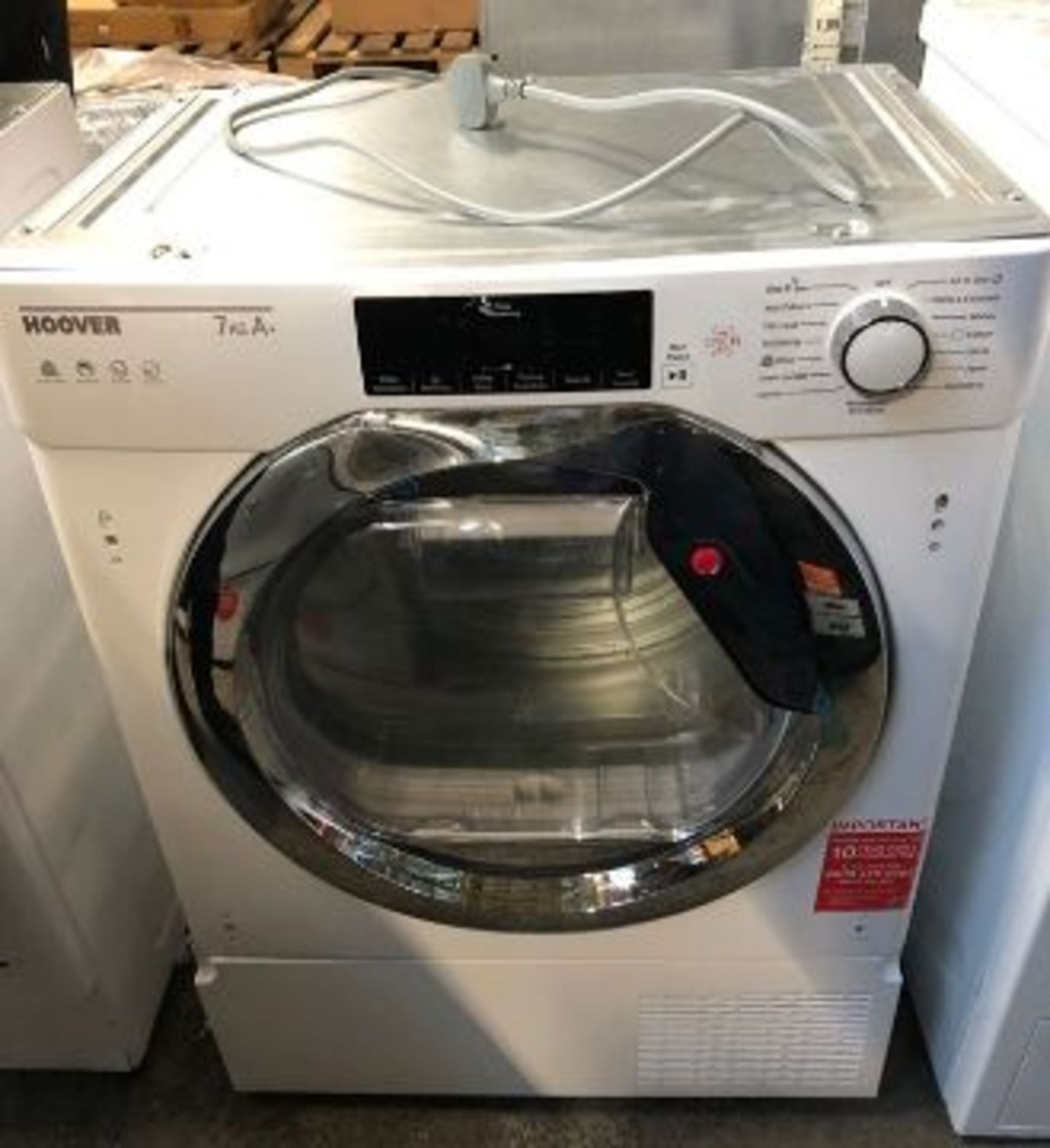 HOOVER TUMBLE DRYER HBTDWH7A1TCE-80 RRP £489.00