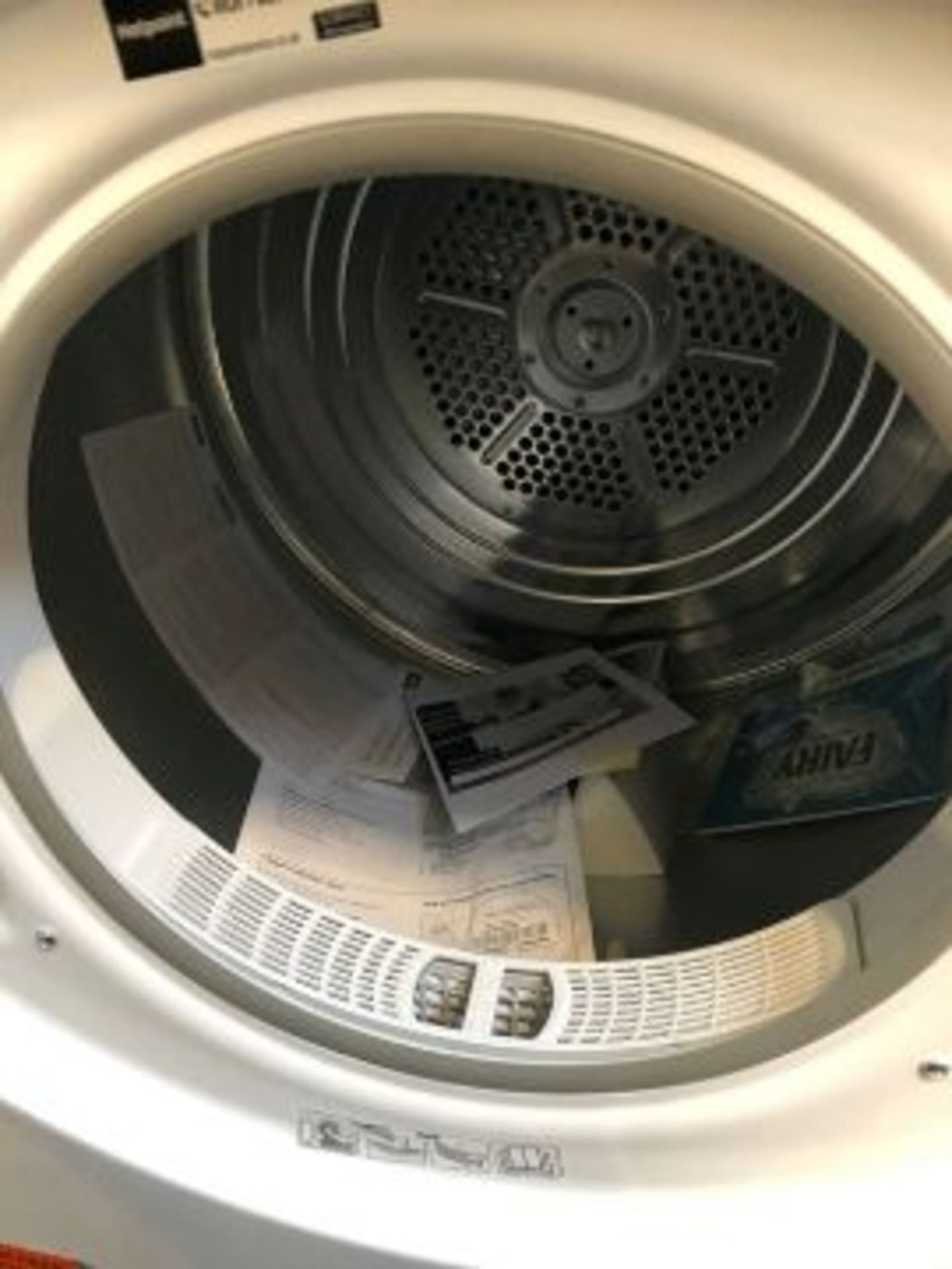 HOTPOINT VENTED TUMBLE DRYER - FETV60CP RRP £209.99 - Image 2 of 5