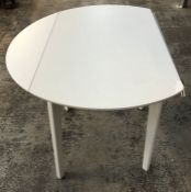 HOUSE BY JOHN LEWIS DILLON 4 SEATER DROP LEAF DINING TABLE