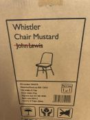 HOUSE BY JOHN LEWIS WHISTLER CHAIR IN MUSTARD
