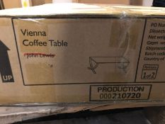 JOHN LEWIS VIENNA COFFEE TABLE