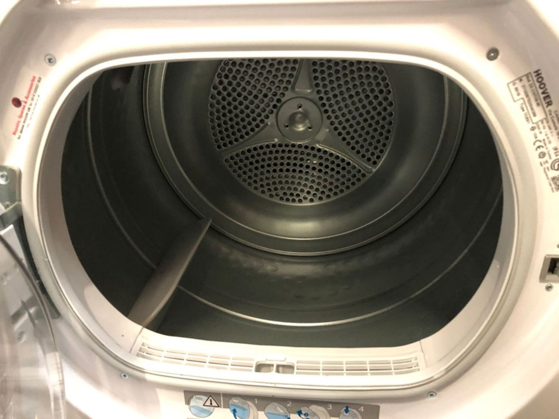 HOOVER DX C10TCE-80 CONDENSER TUMBLE DRYER - Image 2 of 2