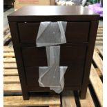 JOHN LEWIS MEDAN 3 DRAWER BEDSIDE TABLE