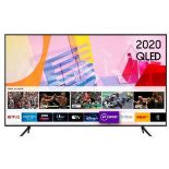 """SAMSUNG 65""""SMART 4K ULTRA HD HDR QELD TV QE65Q60TAU RRP £999.99"""