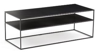LA REDOUTE HIBA METAL COFFEE TABLE