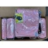 6 x ORKIO SPRING SCREAM LATOP BAGZ 10 IN PINK