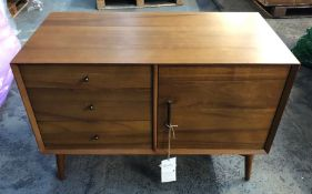 WEST ELM MID-CENTURY SMALL SIDEBOARD