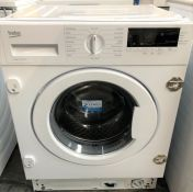 BEKO WTIK84111F INTEGRATED WASHING MACHINE