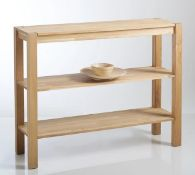 LA REDOUTE ADELITA SOLID OAK CONSOLE TABLE