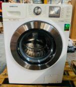 SAMSUNG WF1124XAC ECO BUBBLE WASHING MACHINE / RRP £440