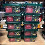 10 PACKS OF STRING LIGHTS - 200 LIGHTS PER PACK / COMBINED RRP £120.00 / AS NEW (IMAGES ARE FOR
