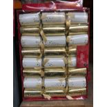 20 X PACKS OF PREMIUM CHRISTMAS CRACKERS / COMBINED RRP £100.00 / AS NEW (IMAGES ARE FOR