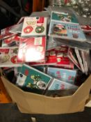 1 X LARGE ASSORTMENT OF SMALL CHRISTMAS CARDS / AS NEW (IMAGES ARE FOR ILLUSTRATION PURPOSES